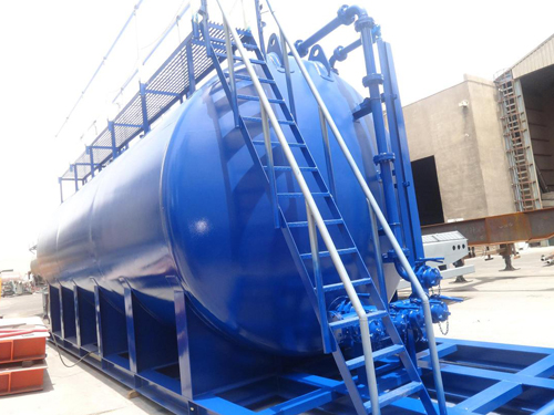 Acid / Water Storage Tanks ( Skid Mounted )